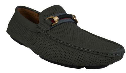 Men/'s Giovanni Slip-On Mocassins Casual formelle robe Mocassin Travail Mariage M788-20