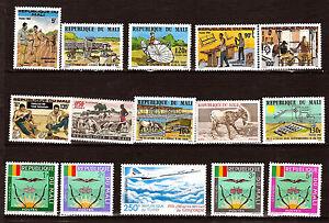 Rep-du-MALI-Sellos-nuevos-Oficios-emblemas-El-concorde-diversos-338A