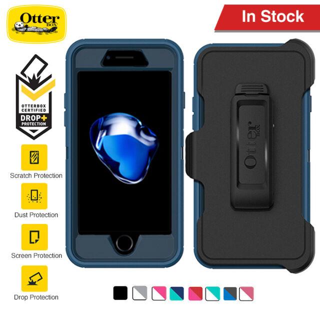 For iPhone 8 8 Plus 7 7 Plus Case Genuine OtterBox Defender Shock proof Cover