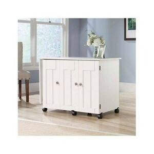 Marvelous Image Is Loading Sewing Craft Table Storage Shelves Cabinet Desk Drop