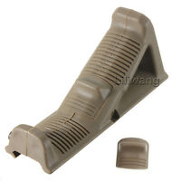 Angled Foregrip Hand Guard Front Grip For Picatinny Rail -straight Tan