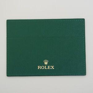 ROLEX-PELLE-PORTA-GARANZIA-ORIGINALE-WARRANTY-GUARANTEE-ROLEX-CODE-4119209-05