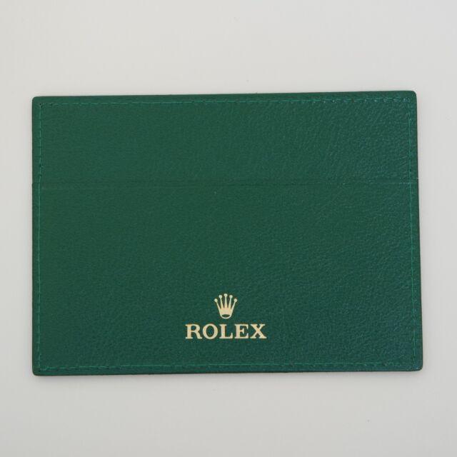 ROLEX PELLE PORTA GARANZIA ORIGINALE WARRANTY GUARANTEE ROLEX CODE 4119209.05