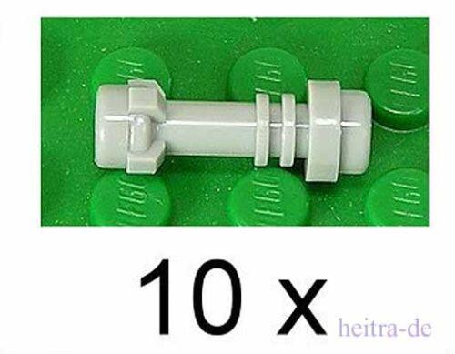 64567 NEUWARE LEGO 10 x Laserschwert Griff hellgrau a2 Laserschwertgriff