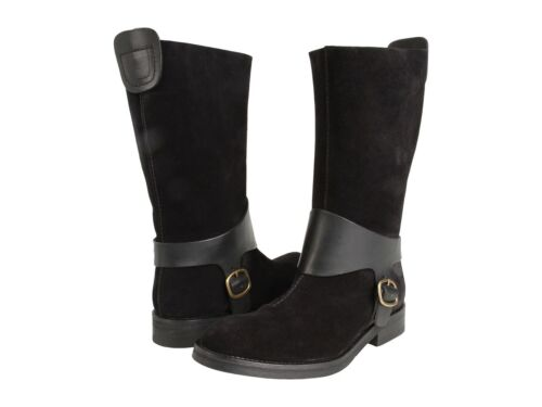 Harness Boot Riding Buckle Flat Pedro Black 41 Bootie Garcia Oren waxqfAF4