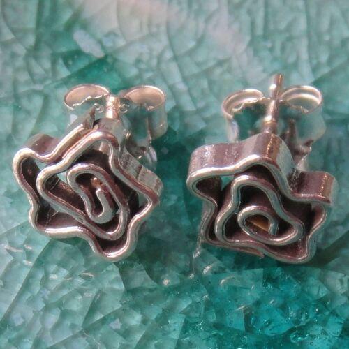 Silver Earring Handmade Thai Karen Hill tribe