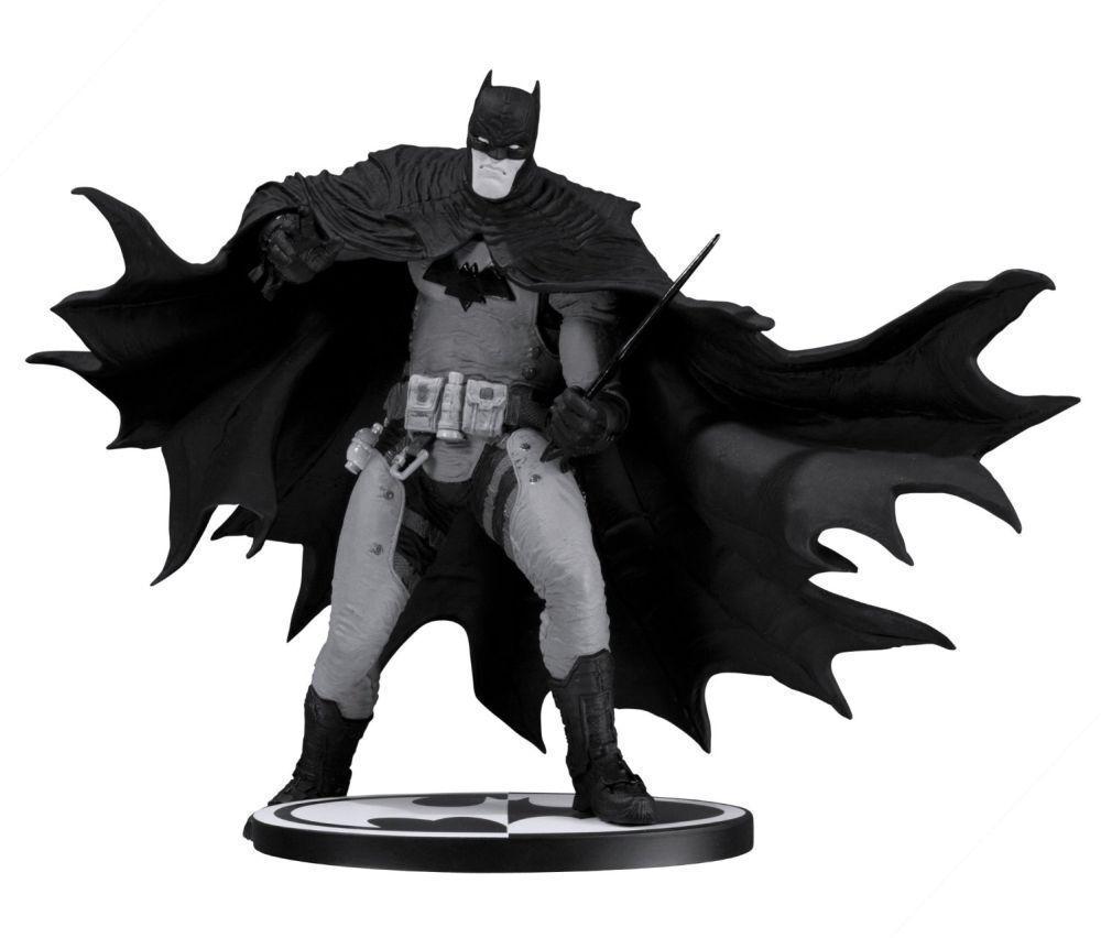 STATUE BATMAN nero & bianca BY RAFAEL GRAMPA - RESINE DC COMICS - EN STOCK