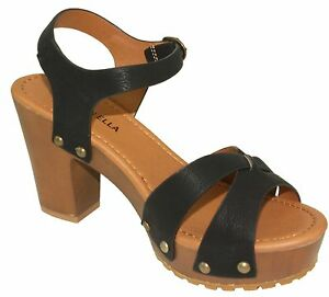 4de6a1d472972 Steven Ella Women s Adjustable Ankle Strap Lug Sole Platform High ...