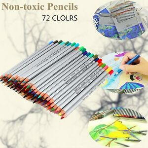 Non-toxic Fine Art Marco 72 Colors Drawing Oil Base Pencils Artist Sketch Artist