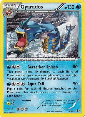NM Quagsire Pokemon Wake Complete Deck Floatzel Gyarados 60 Cards
