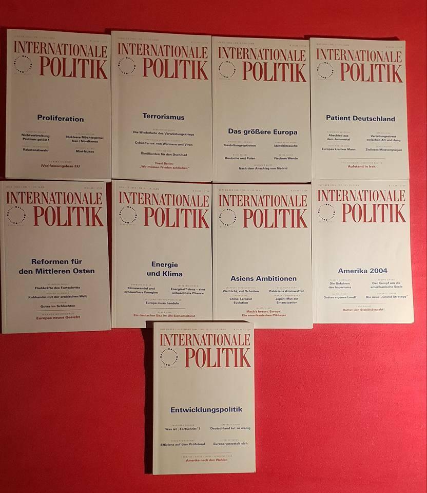 Räumungsverkaufsrabatt [RAR] Internationale Politik 20   20 Bände ...