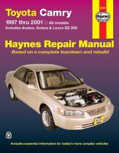 Avalon Toyota Camry and Solara /& Lexus ES300 Haynes Repair Manual 1997-2001