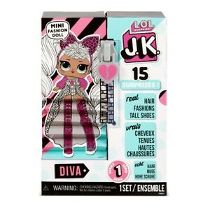LOL-Surprise-JK-Mini-Fashion-OMG-Doll-Diva-Exclusive-new-2020-ready-to-send