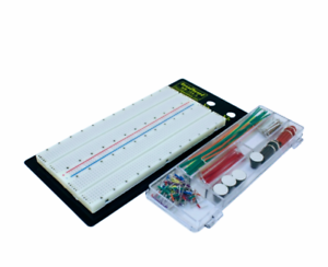 Solderless Breadboard Protoboard PCB 1360 Tie Points with Jumper Wires Kit