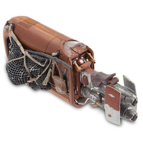 Disney Store Star Wars The Force Awakens Rey/'s Speeder Die Cast Vehicle Figure