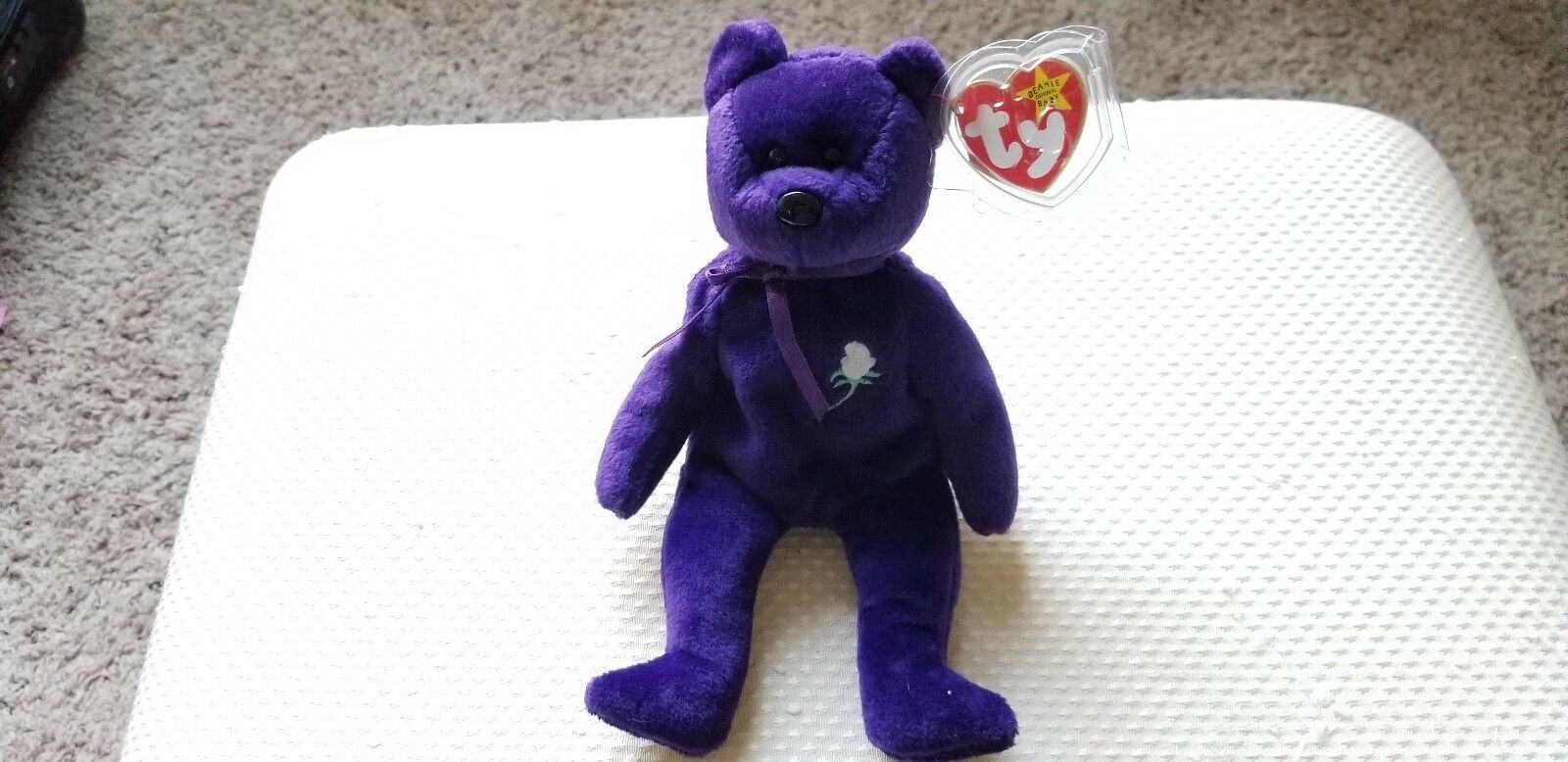 Ty Beanie Baby - PRINCESS DIANA from 1997 - RARE, RETIRED, MINT, COLLECTABLE