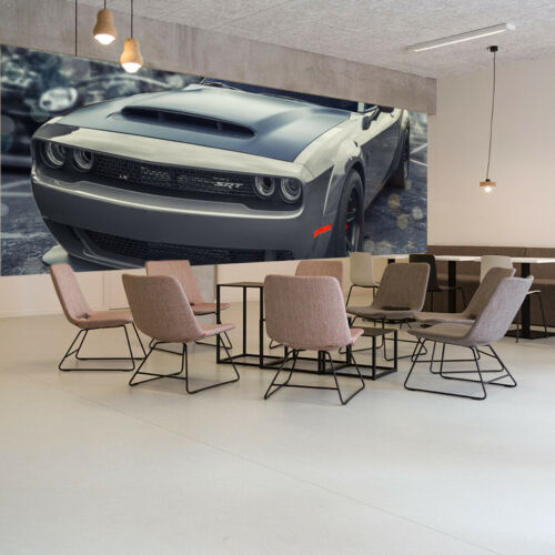 Fototapete Vlies und Papier Tapete Auto Dodge Charger SRT Demon Nr DS4595