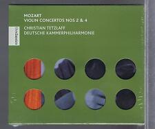MOZART CD NEW VIOLIN CONCERTOS 2 & 4 CHRISTIAN TETZLAFF