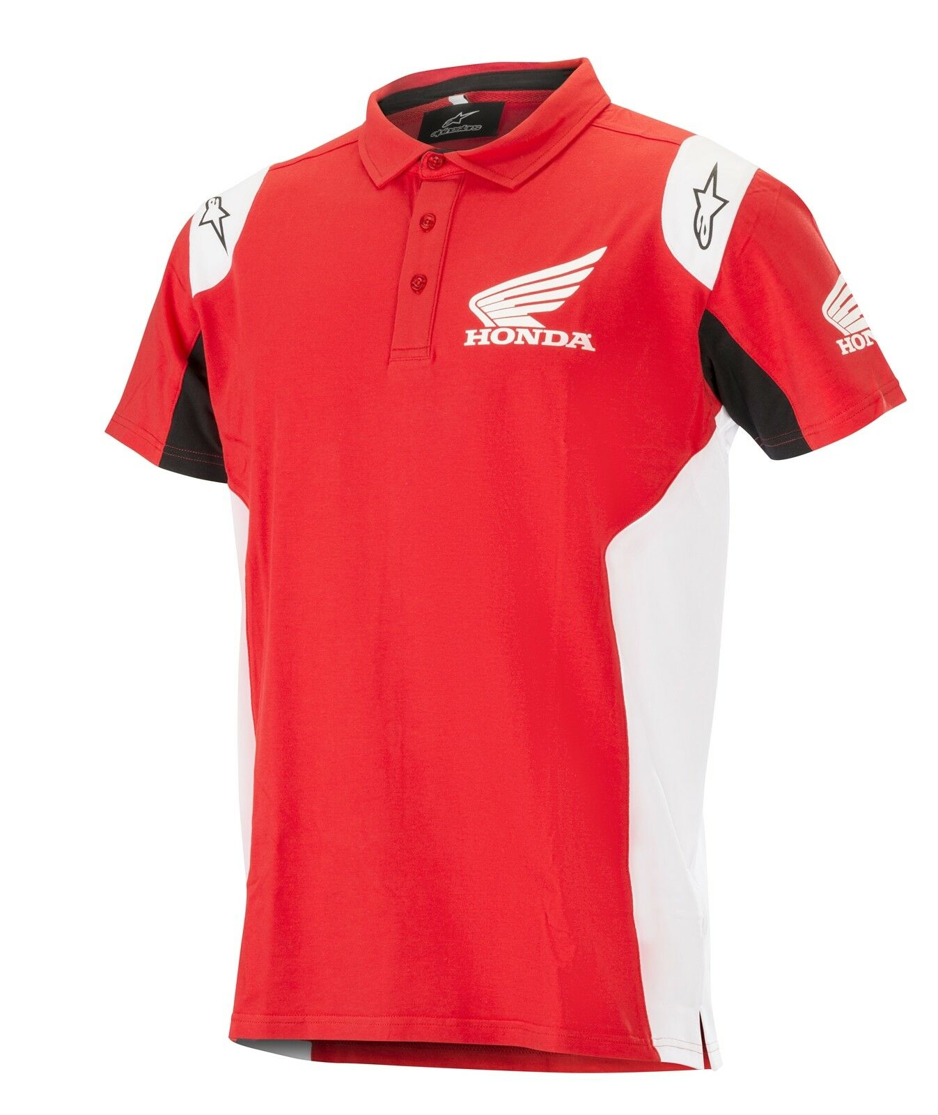 Alpinestars Honda Polo men 3 Pulsanti