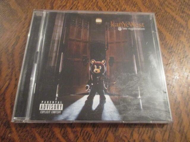 cd album kanye west late registration + dvd bonus