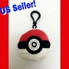 Pokémon Go Pokeball Plush Plus Keychain Backpack Hanger