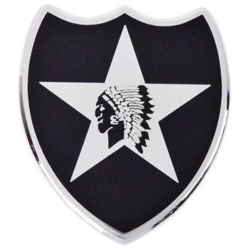 2nd Infantry Division Patch Car Emblem