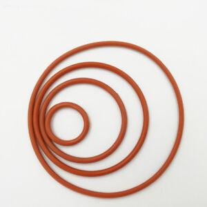 O-Ring MVQ Silikon Schnurstärke=1,0mm Innen Ø =11-20mm O-Ringe Neu GLL
