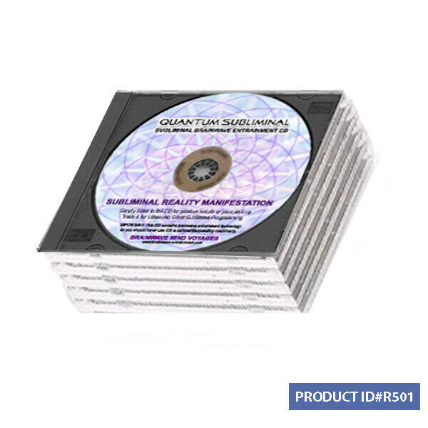 5 Cd Create Your Own Reality Remote Influence Manifest Miracles Mind Over Matter For Sale Online Ebay