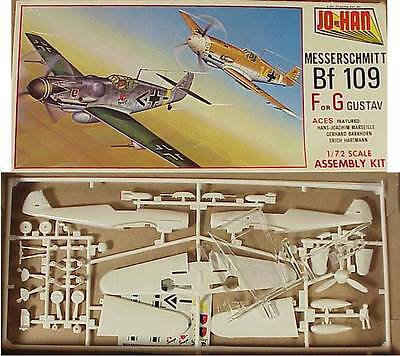 ***(P11) Pre-Owned Vintage Jo Han 1/72nd #A-101 WW II German Mess BF 109 F Or G