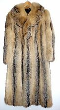 Awesome S Vintage Coyote men's fur coat soft like fox fur natural look mantle