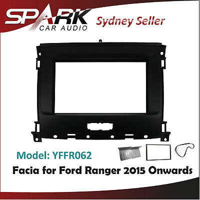 AD Double 2 DIN FACIA KIT Panel Fascia Dash For Ford Ranger PJ PK 2006-2011
