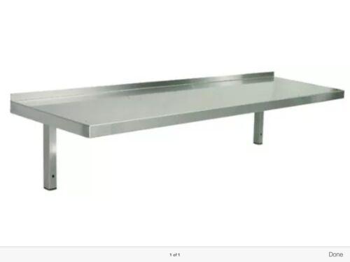 Stainless Steel Shelves 450mm x 400mm deep