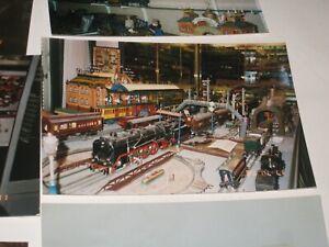 120 photos d'une collection de trains Marklin  chez un collectionneur