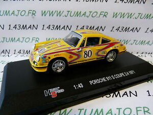 voiture-1-43-HIGH-SPEED-PORSCHE-911-S-coupe-2-4-1971-rallye-MIB