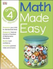 Math Made Easy: Math Made Easy - Grade 4 by Dorling Kindersley Publishing Staff (2001, Paperback, Workbook)