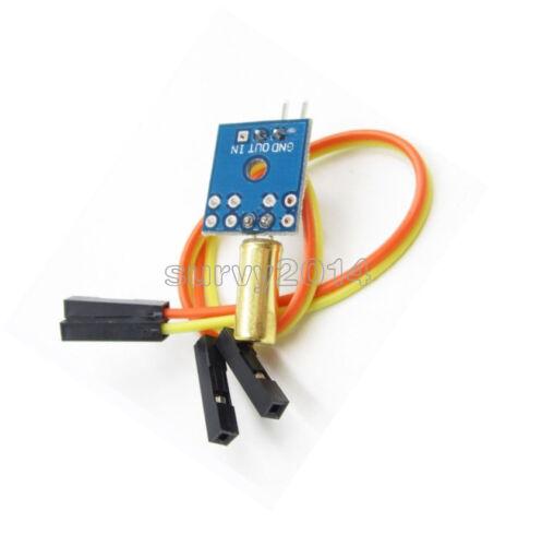 2//5//10PCS Tilt Angle Module Vibration Sensor for Arduino STM32 AVR Raspberry pi