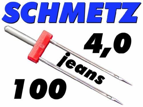 Zwillingsnadel 130//705 H ZWI NE 4,0//100 Schmetz
