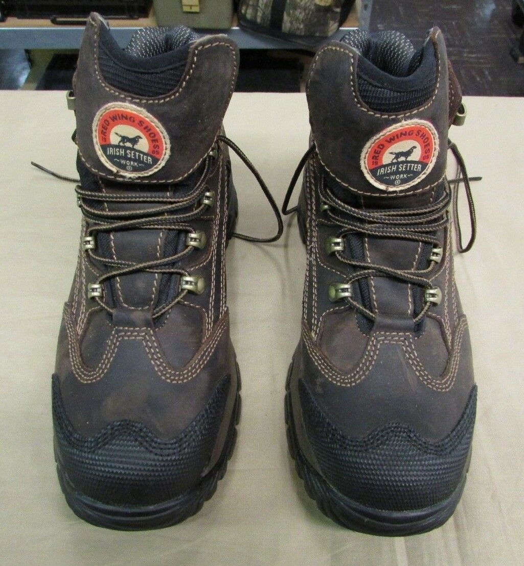 Rosso Rosso Rosso Wing Irish Setter 83402 Two Harbors Boot EH steel toe Size 8D 21942e