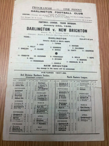 194748 DARLINGTON v NEW BRIGHTON