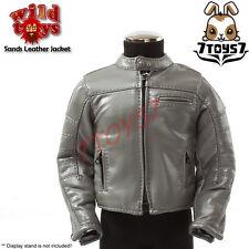 Wild Toys 1/6 Sands - Grey motor biker Set_ Grey Jacket only_Leather-like WT021E