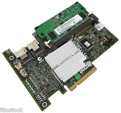 """Dell Perc H700 512 Mb Controller Raid Sas R610 + Cavi Per R710 3.5"""" P110m N170m- Tieniti In Forma Per Tutto Il Tempo"""