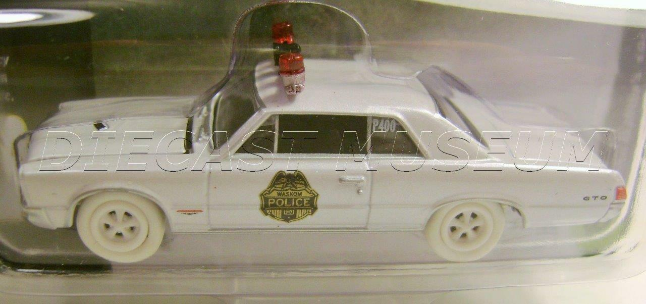 1965 '65 PONTIAC GTO POLICE COP CAR BTH JOHNNY JOHNNY JOHNNY WHITE LIGHTNING CHASE CAR 1 OF 25 5339ec