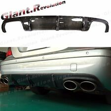 3K Carbon Fiber Diffuser Fit 03-06 BENZ W211 E55AMG Sedan Sporty Bumper Body Kit