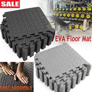 24Sq-216 Sq FT Eva Foam Floor Interlocking Exercise Mat Gym Yoga Playground Pad