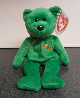 EGGBEART the Bear Internet Exclusive 8.5 inch TY Beanie Baby - MWMTs