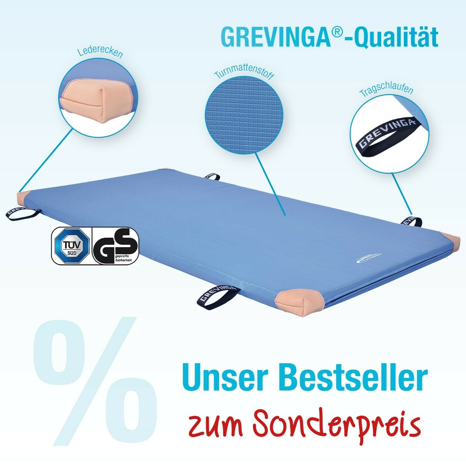 (Large) grevinga ® Game and Gym Mat-Various Variations
