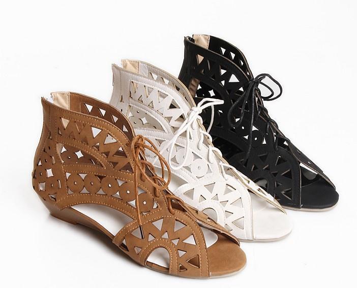 Sandalias 3 botas verano perforado mujer disponibles 3 Sandalias colores 8177 talón 3.3 cm e6d276
