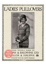 """701  /""""THE TOTEM DIARY/"""" 8 PLY FAIR ISLE LADIES PATTERNS PATONS KNITTING"""