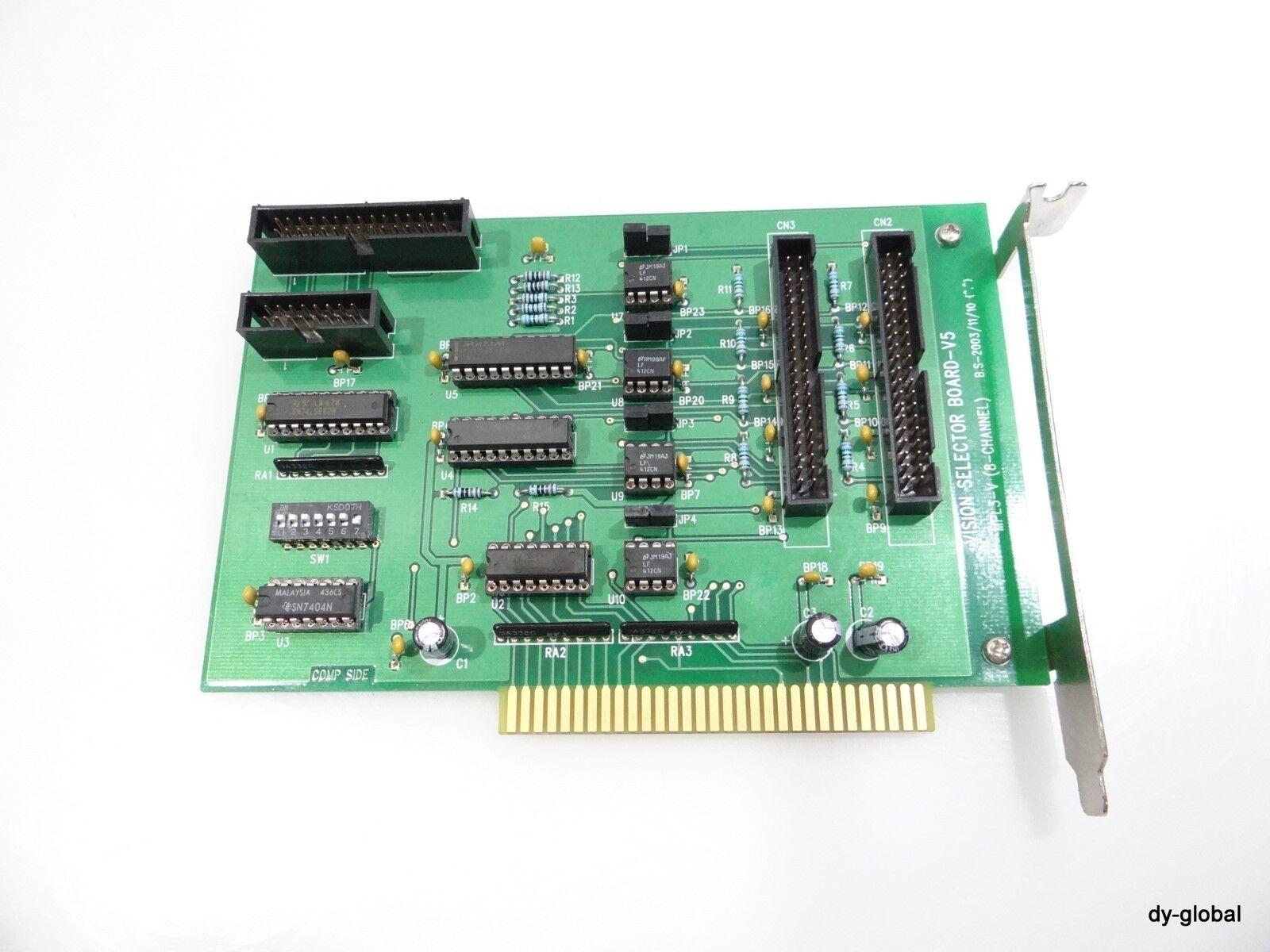 VISION SELECTOR BOARD-V5 MPL3-V (8-CHANNEL) PCB-I-E-259