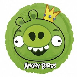 ANGRY-BIRDS-BALLOON-17-034-GREEN-BIRD-AL-ANGRY-BIRDS-PARTY-SUPPLIES-ANAGRAM-BALLOON
